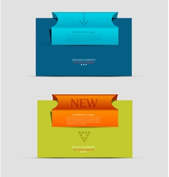 banner business unit vector image vector image