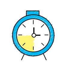 Clock design to know the time vector