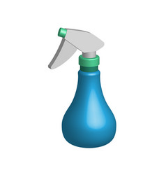 object spray bottle in 3d vector image vector image