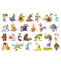 Set of animals sport vector