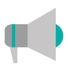 simple megaphone icon vector image
