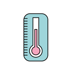 Thermometer medical instrument care health vector