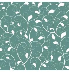 Vintage seamless branch pattern vector