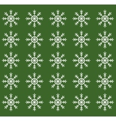 Merry christmas snowflake vector