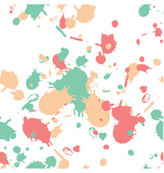 Swatches and paint strokes seamless wallpaper vector