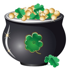 Pot of gold2 vector