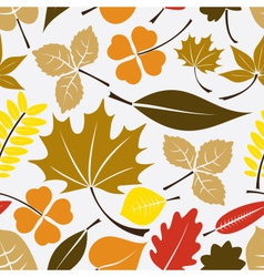 Color leaves icon seamless pattern eps10 vector