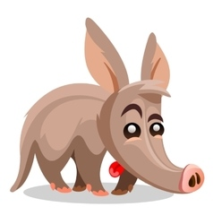 Aardvark A cartoon vector image