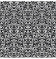 Hidden circles seamless pattern vector