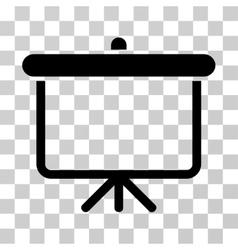 Projection board icon vector