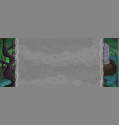 zombie background for game vector image vector image