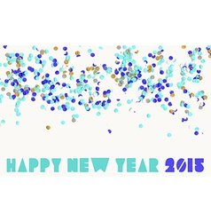Happy new year party 2015 vector