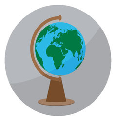 Icon globe sign vector
