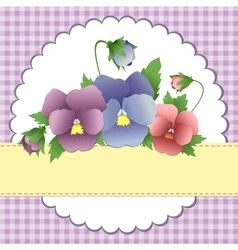 Mothers Day postcard vector image