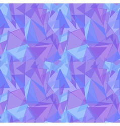 Abstract purple triangular seamless pattern vector image