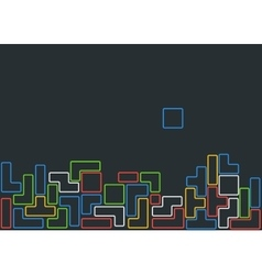 Old video game vector