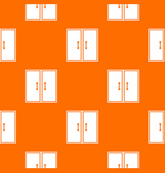 Two glass doors pattern seamless vector