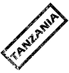 Tanzania stamp vector