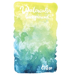 Watercolor banner vector