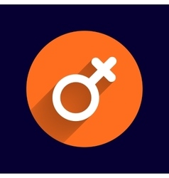 Female sign icon woman gender feminine vector