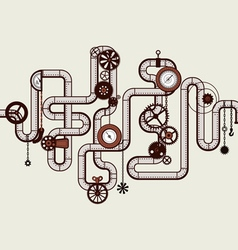 Steam punk vector
