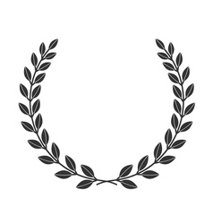 Laurel wreath icon border 8 1 vector