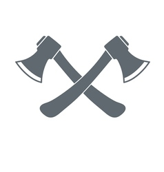 Camp ax flat icon vector