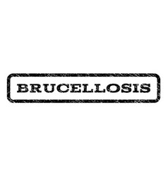 brucellosis watermark stamp vector image