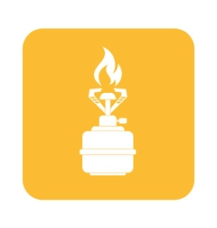 Burner icon vector