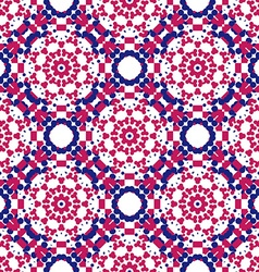 Colorful Geometric designs floral simple pattern vector image vector image