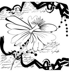 original grunge background vector image vector image