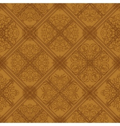 Seamless tile abstract pattern vector