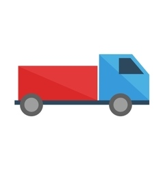 Toy truck transport game vector
