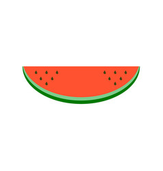 watermelon fruit icon isolated vector image