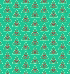Magic seamless pattern vector
