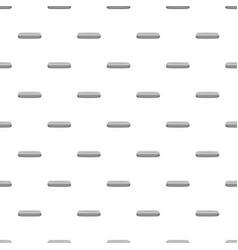 Gray rectangular button pattern vector
