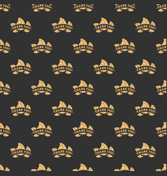 Thank you seamless pattern vector