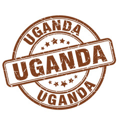 Uganda stamp vector
