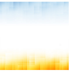 yellow and blue abstract background vector image vector image