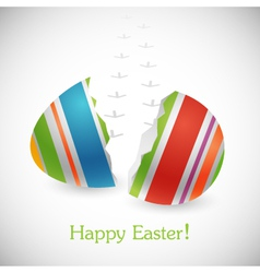 Happy easter background vector