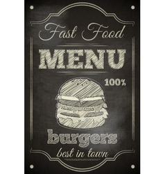 Burger Menu vector image