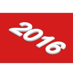 New year background isometric vector