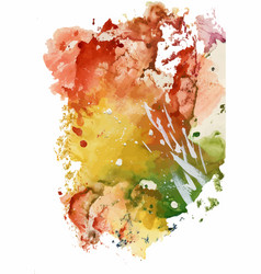 colorful watercolor abstract background vector image vector image