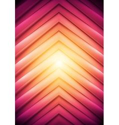 Concept arrows backdrop vector image