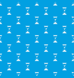 watch pattern seamless blue vector image vector image