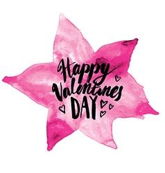 Calligraphy Valentine 03 vector image