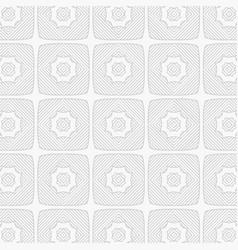 Gray line pattern background vector