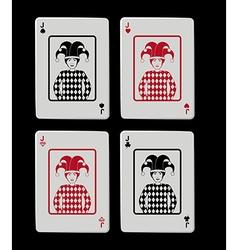 Jackpot design vector image