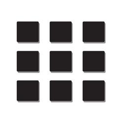 mene icon flat style on white background vector image