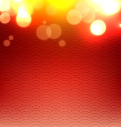 Shiny glowing red background vector